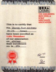DISMA Membership